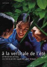 Affiche 120x160cm A LA VERTICALE DE L'ÉTÉ /MUA HE CHIEU THANG DUNG - 2000