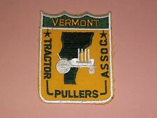 VINTAGE VERMONT TRACTOR PULLERS ASSOCIATION  CLOTH PATCH