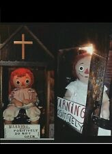 Annabelle,Lifesize horror prop,Raggedy Ann,Replica The conjuring