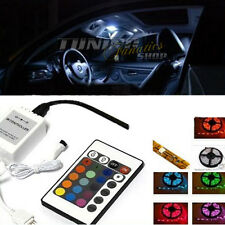 2er RGB LED SMD Innenraumbeleuchtung Fußraumbeleuchtung für VW Seat Skoda