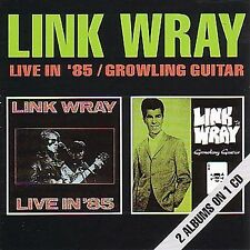 Live in '85/Growling Guitar by Link Wray (CD, Apr-1991, Big Beat Records...