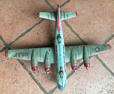 Vintage Japanese WW 2 bomber Tin Toy Plane