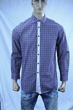 Authentic Luciano Barbera Men's casual fashion cotton shirt US L Made in Italy