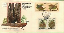 MAL 1986 Protected Wildlife Series II ~ FDC