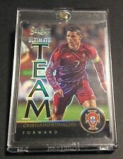 2015 Select Soccer CHRISTIANO RONALDO # 1/1 BLACK Prizm True ONE of ONE!!!