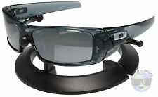 Oakley GASCAN Sunglasses 03-481 | Crystal Black | Black Iridium | NIB |