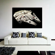 Poster Mural Star Wars Millennium Falcon 40x57 in (100x143 cm) Adhesive Vinyl
