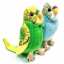 13cm Budgerigar Bird Soft Toy - Assorted Colours - Suitable for all ages (0+)