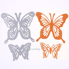 Butterfly Carbon steel Cutting Dies Stencil DIY Scrapbooking Embossing 2 Pcs/Set