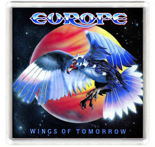 EUROPE - WINGS OF TOMORROW LP COVER FRIDGE MAGNET IMAN NEVERA