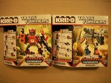 Kre-o Transformers Micro Changers Combiners Computron & Menasor New & Sealed