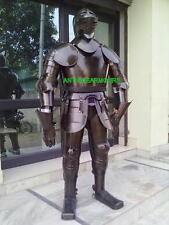 Medieval Knight Suit of Armor 17th Century Combat Full Body Armour Suit & STAND