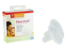 NEW AMEDA FLEXISHIELD AREOLA STIMULATORS x2 (1 PAIR) 17212 BREASTSHIELD INSERT