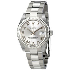 Rolex Datejust Lady 31 Silver Dial Stainless Steel Rolex Oyster Automatic Watch