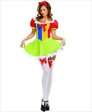 Music Legs Vinyl Fairyland Princess Clown Sexy Womens Costume M/L 10/12