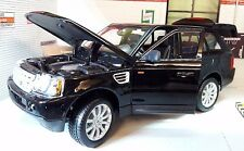 Land Range Rover Sport TDV6 LR3 Black Detailed Diecast Model 1:18 Maisto Burago