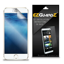 4X EZguardz LCD Screen Protector Skin Cover Shield HD 4X For Apple iPhone 6s