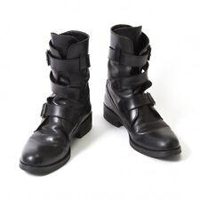Yohji Yamamoto FEMME Belt Design Boots Size 2(US About  5.5)(K-46566)