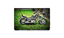 1985 honda shadow Bike Motorcycle A4 Photo Poster