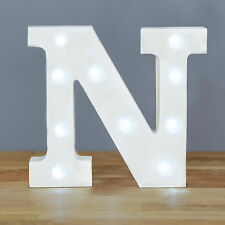 Up In Lights Light up Letters - Letter N