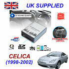 CELICA 1998-2002 MP3 SD USB CD AUX Input Audio Adapter Digital CD Changer Module