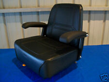 BLACK HIGH BACK SEAT KUBOTA ZD 21,25,28 ZERO TURN MOWERS,GRAVELY,SNAPPER,ZTR #HY