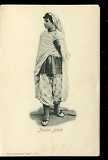 Israel ethnic JEWISH GIRL Jeune Juive dress costume u/b early PPC