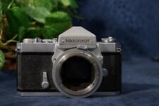 Nice Vintage NIKKORMAT FT 35mm SLR Camera Body