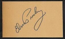 Elvis Presley Autograph Reprint On Genuine Original Period 1950s 3x5 Card