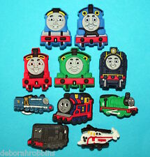 Thomas the Tank Engine Shoe Charms Decorations TRAIN Party Favours XMAS Gift NEW