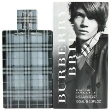 Burberry Brit by Burberry for Men EDT Cologne Spray 3.3 oz. New in Box