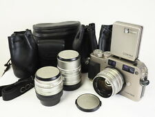 Contax G1 Body &T* lenses,Planar 45mm,Biogon 28mm,Sonnar 90mm, Great condition!