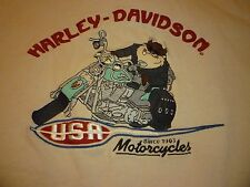 Harley Davidson / Taz Vintage Shirt ( Used Size M ) Nice Condition!!!