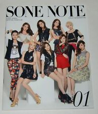 SNSD Girls' Generation JAPAN OFFICIAL FANCLUB MAGAZINE Vol.01 SONE NOTE