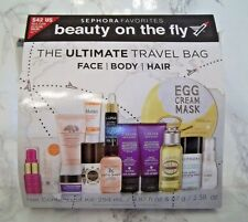SEPHORA FAVORITES The Ultimate Travel Bag 14 travel items & clear bag ~SOLD OUT!