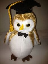 TY WISEST THE OWL CLASS OF 2000 GRADUATION BEANIE BABY RETIRED NEW STUFFED TOY!