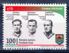 2013 URUGUAY STAMP MNH SOCCER FOOTBALL WORLD CHAMPION LEGENDS RAMPLA LIGHTHOUSE