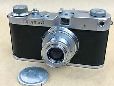 Opema rangefinder camera by Meopta w/Belar 45mm f/3.5 Czechoslovakia Leica Copy