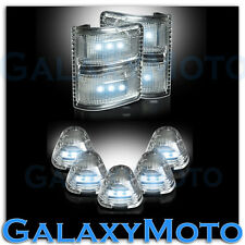 08-15 Ford Super Duty Clear Lens WHITE LED Mirror Turn Signal+5pcs Cab LED Light