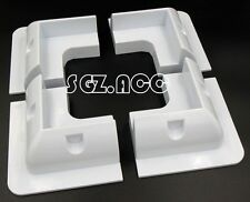 Solar Panel Mounting Bracket White Corner For Caravans Boats Motor Homes 80W PV