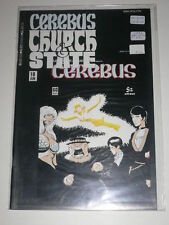 Cerebus Church & State #10 VF Aardvarkvanaheim Jun 1991