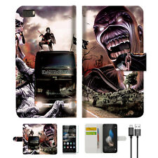 Iron Maiden Wallet Case Cover For Huawei Ascend P8 Lite -- A014