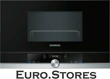 Siemens iQ700 BE634LGS1 Built In Microwave Oven With Grill 21L 900W Genuine NEW