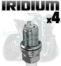 4x AGA Iridium Spark Plugs for YAMAHA  900cc XJ900S Diversion 95- 04 D8RTCI-9