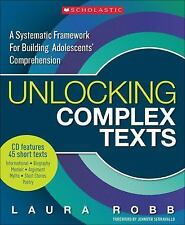Unlocking Complex Texts: A Systematic Framework for Building Adolescents' Compr