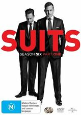 Suits : Season 6 : Part 1 (DVD, 2016, 2-Disc Set) (Region 4) Aussie Release