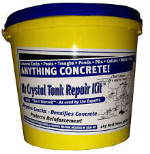 Concrete REPAIR KIT Walls Water Tank Pool Trough Pond