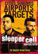 Sleeper Cell American Terror - The Complete Second Season Dvd 3 disk BRAND NEW