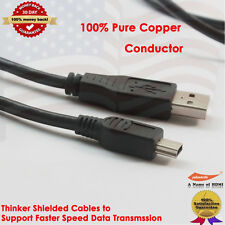 2.0 Mini-USB to USB Cable (10 Feet)-High-Speed A Male to Mini B with UL Listed