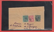 Partial wrapper Edward 4c multiple weight rate, scarce, to FRANCE PRINTED MATTER